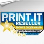 Aplikacja Downtime Reports Lexmarka zdobywa główną nagrodę redakcji !
