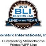 Lexmark zdobywa wyróżnienie roku 2013