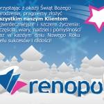 Wesołych Świąt życzy Renopol