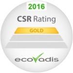 Trzeci rok z rzędu Lexmark otrzymuje złoty certyfikat od EcoVadis.